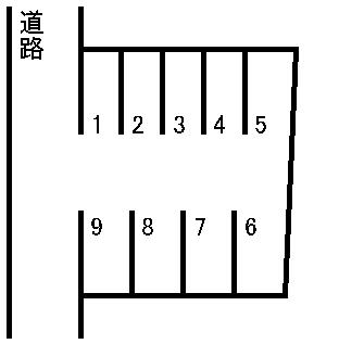 庄口公園駐車場 敷地図