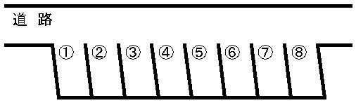 アーバン・ビルドパーキング 敷地図