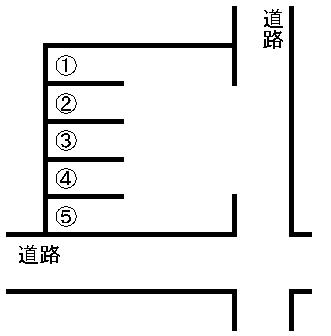 湖東2丁目駐車場 敷地図