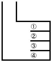 京塚駐車場 敷地図