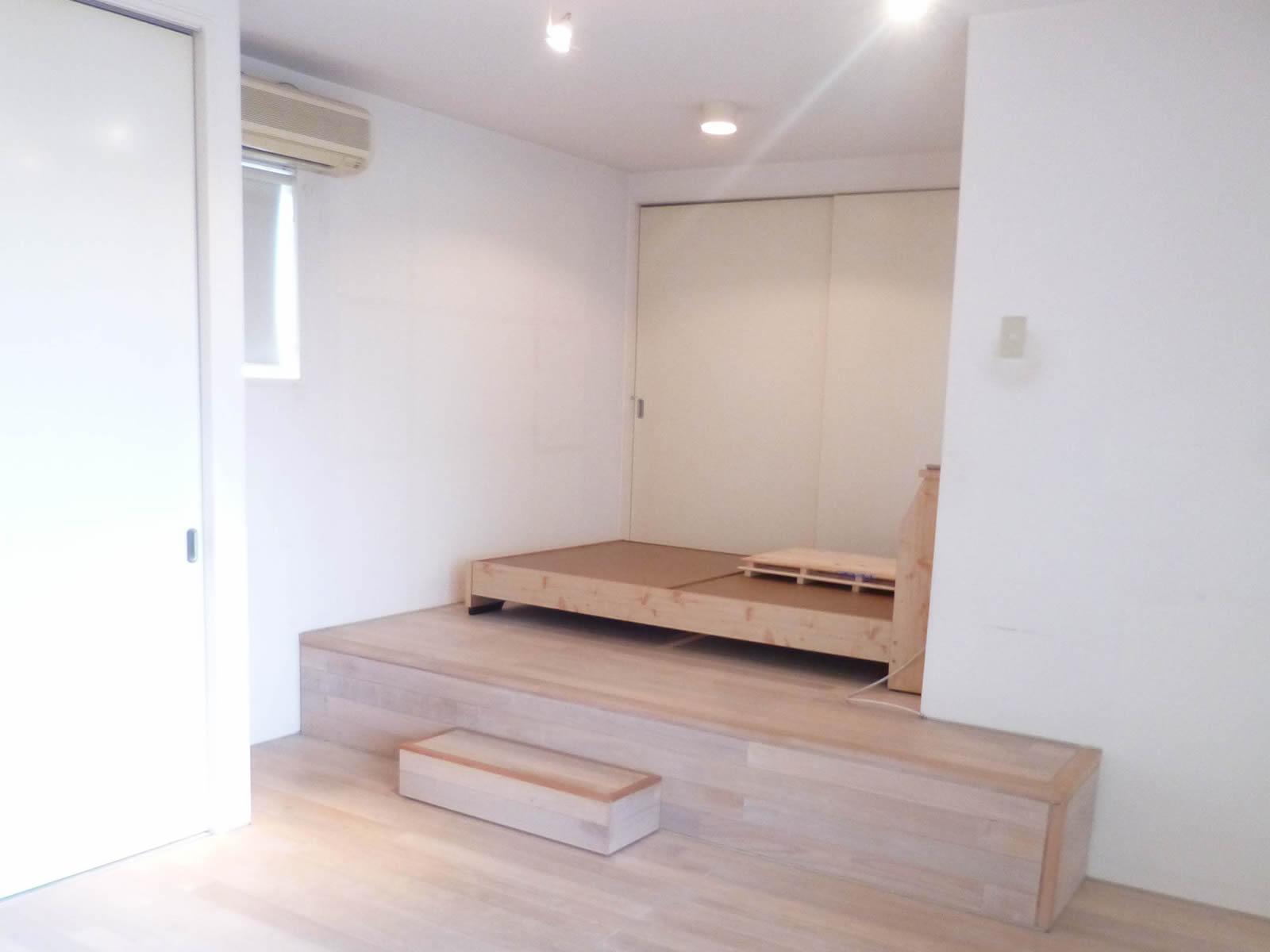 2F洋室10帖 ベットが置けるスペース有