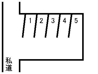 小倉駐車場 敷地図