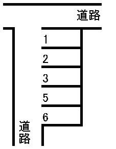 岡崎駐車場 敷地図
