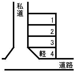 大東駐車場 敷地図