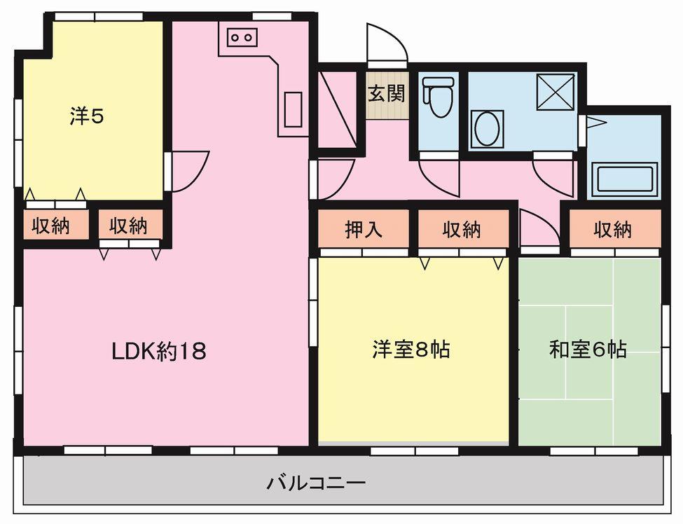 水前寺パークマンション 701