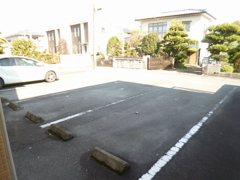 駐車場(縦列2台)