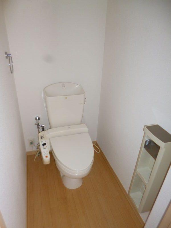ウォーシュレット付トイレ